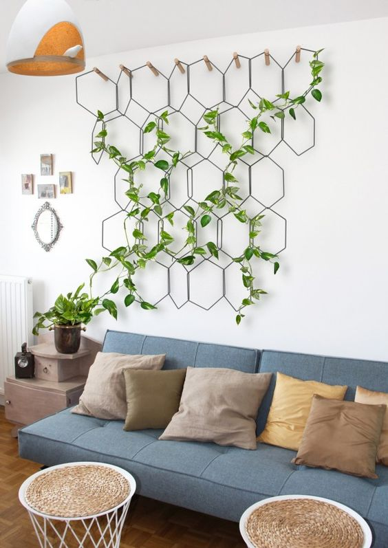 5 ideas originales para decorar la pared