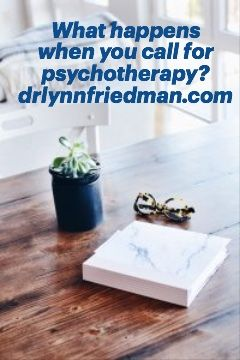 What happens when you call for psychotherapy?