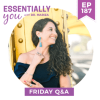 EP187-What-Is-Causing-My-Heavy-Bleeding-and-Migraines,-and-Can-Bio-Identical-Hormones-Help-Me--FRIDAY-Q&A-sq-png