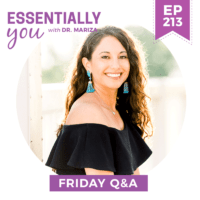 EP213-What-Is-the-Right-Exercise-if-You-Are-Dealing-with-Hormone-Issues-FRIDAY-QA-w
