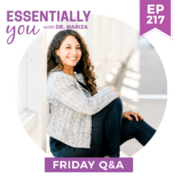 EP217-Marizas-Friday-QA-5-Signs-of-Progesterone-Deficiency-and-How-to-Fix-It-FRIDAY-QA-sq