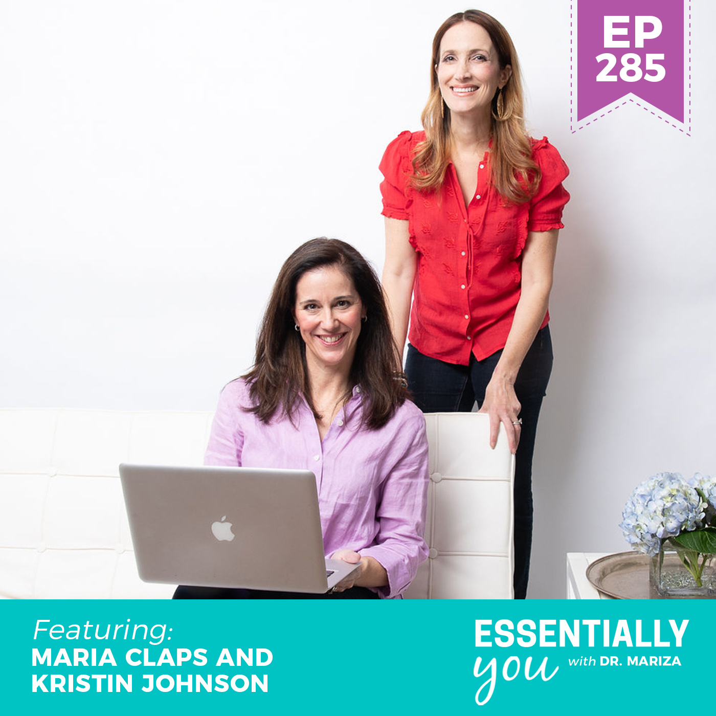 #285: The Lowdown on Declining Hormones and How they Impact Weight, Mood and Sleep with Maria Claps and Kristin Johnson