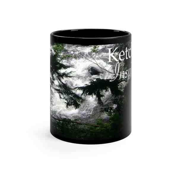 Ketchikan Inspirations -Black mug 11oz 2