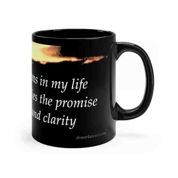 I embrace the storms in my life... -Inspirational Ceramic Mug 11oz 3