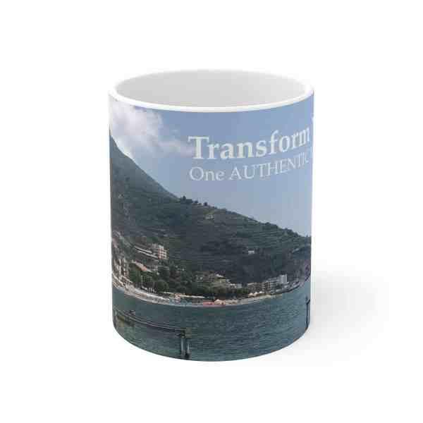 Transform Your Life!... -Inspirational Ceramic Mug 2