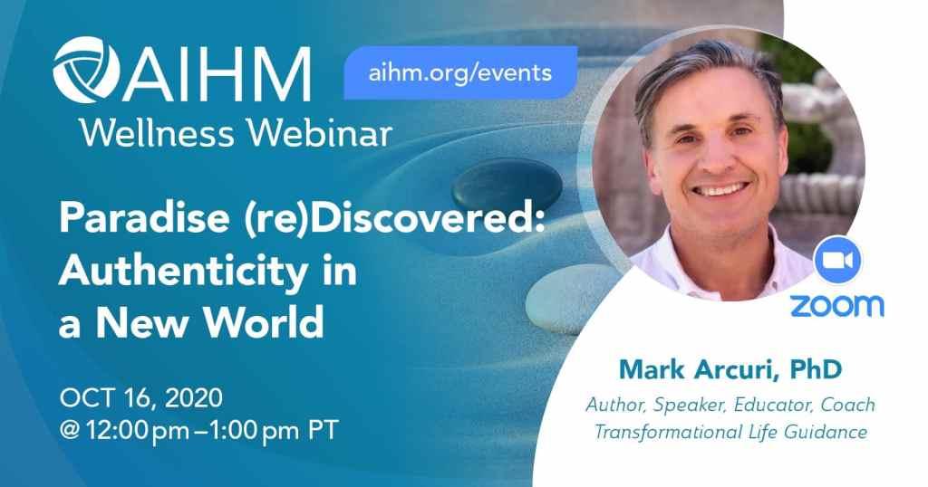 Dr Mark at AIHM