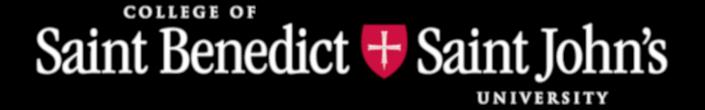 College of Saint Benedict & Saint John's