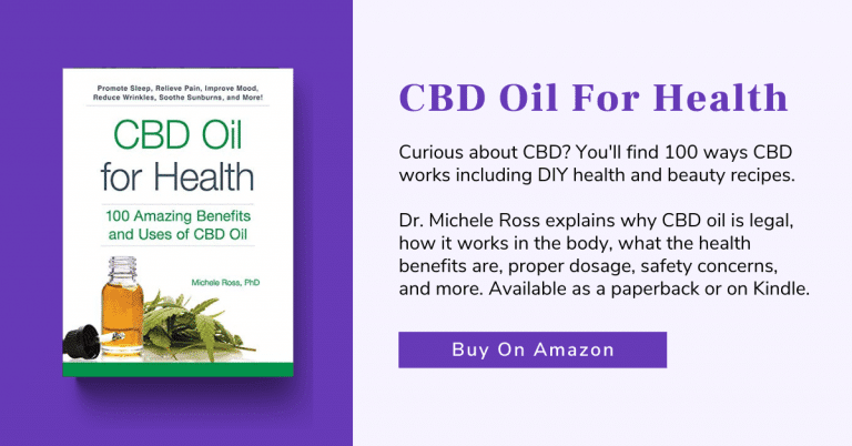 cbd recipes book by dr. michele ross