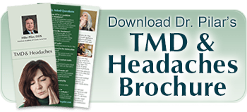 Migraine, Headache and TMJ Disorder Treatment brochure