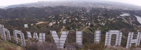 behind hollywood sign
