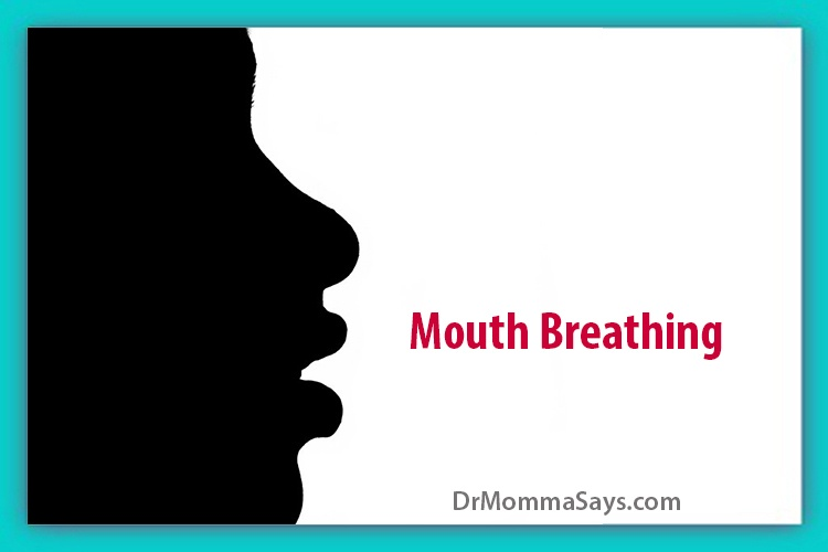 Dr. Momma discusses the significance of mouth breathing and highlights some of the most common causes of mouth breathing in kids
