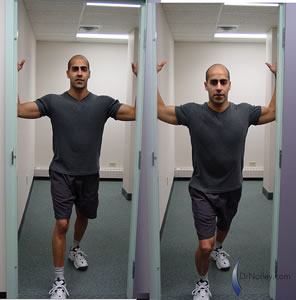 Stretches to keep neck pain away! | Know your body ...  |Pectoralis Major Stretch