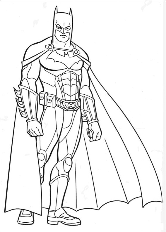 Batman Coloring Page Dr Odd