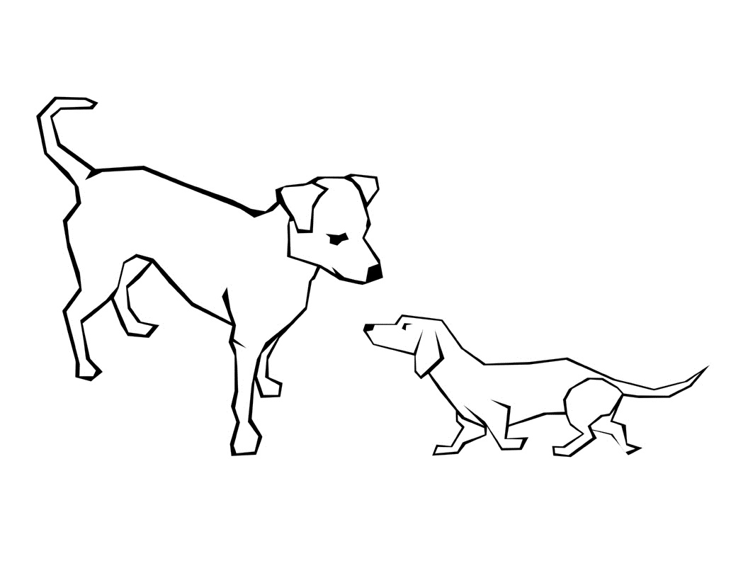 Dog Coloring Pages Best Cool Funny