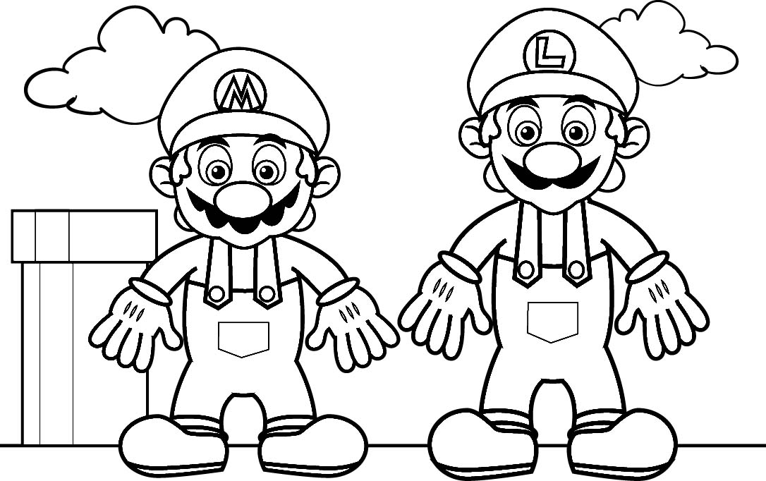 mario coloring pages 2016 dr odd