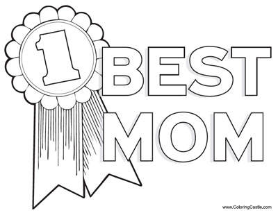 I Love You Mom Coloring - Get Coloring Pages | 307x400