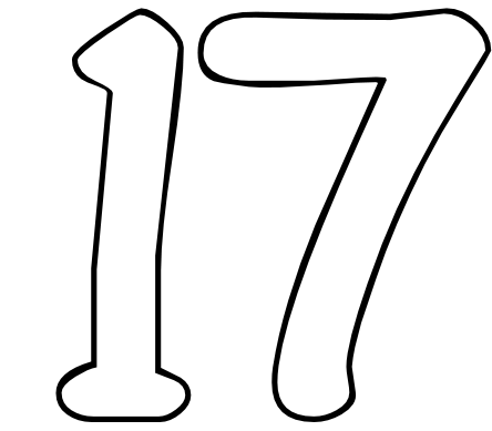 the number 17 is a highly spiritual number and has been expressed by