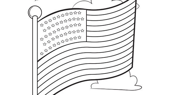 american flag coloring pages 2016 dr odd