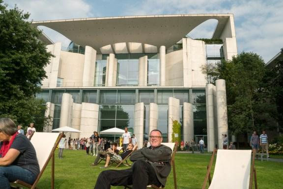 Berlin, Bundeskanzleramt (Tag der offenen Tür)