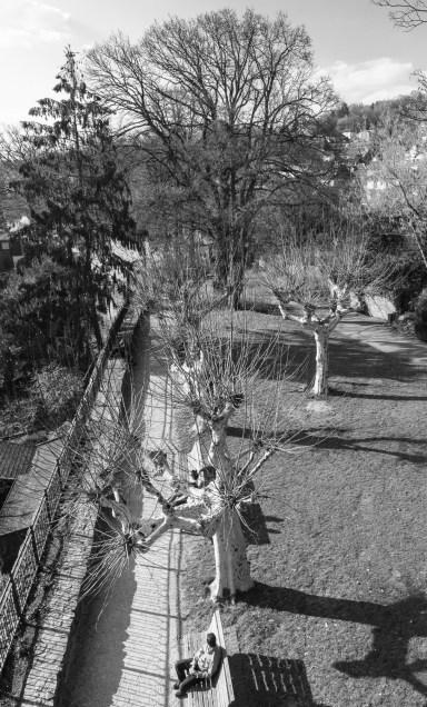 Gelnhausen, vom Halbmondturm aus gesehen