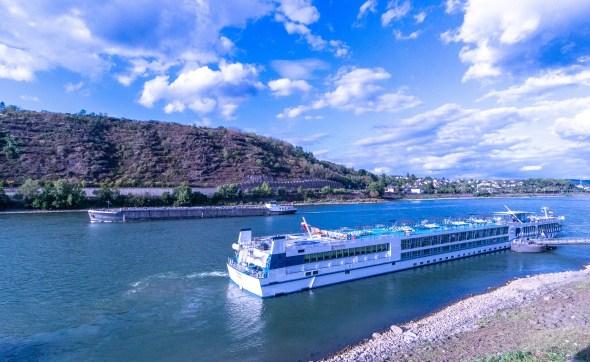 Andernach, am Rhein