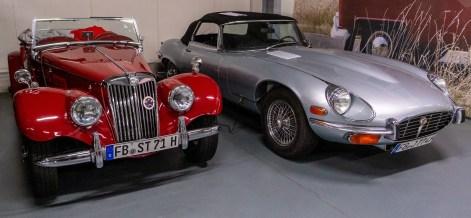 MG und Jaguar