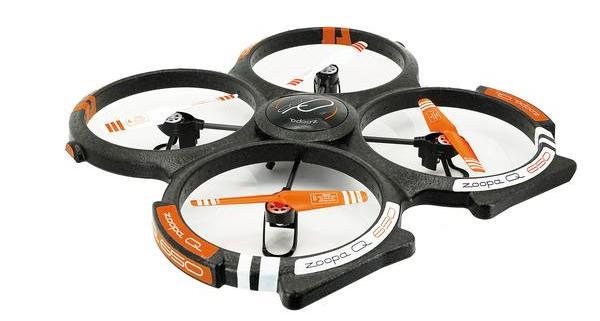 Q650 Drohne von oben