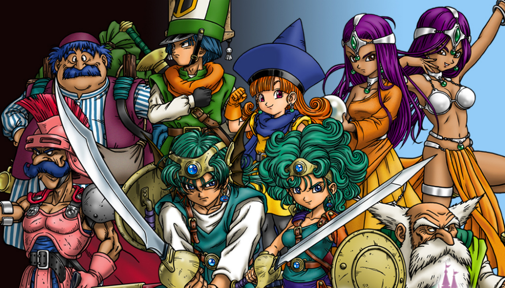 Image result for dragon quest 4