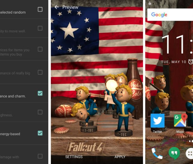 Nvidia And Bethesda Launch Fallout 4 Live Wallpaper Filled With Bobbleheads Droid Life