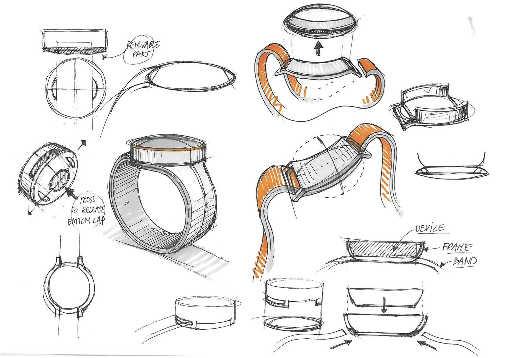 Oneplus Co Founder Shows Off Smartwatch Sketch That Will
