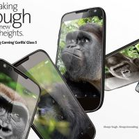 Corning's Gorilla Glass 5 is sturdier, and can survive 5 feet drops
