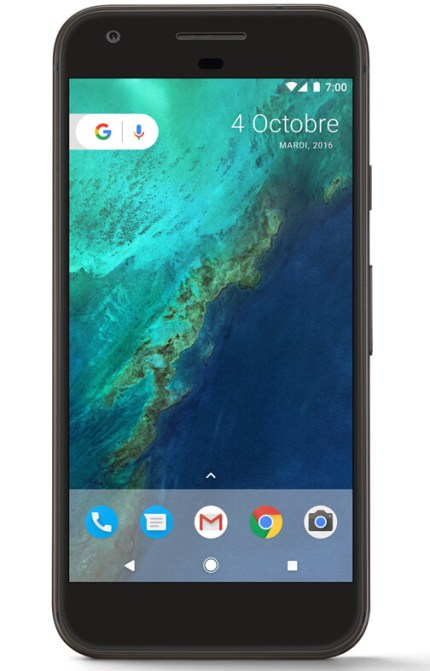google-pixel-black