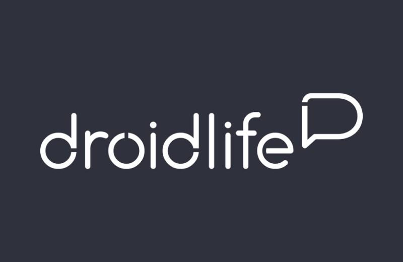 new droid life logo white