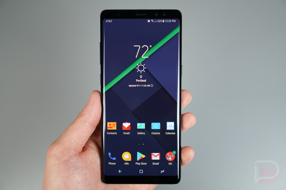 My 5 Favorite Galaxy Note 8 Themes Droid Life