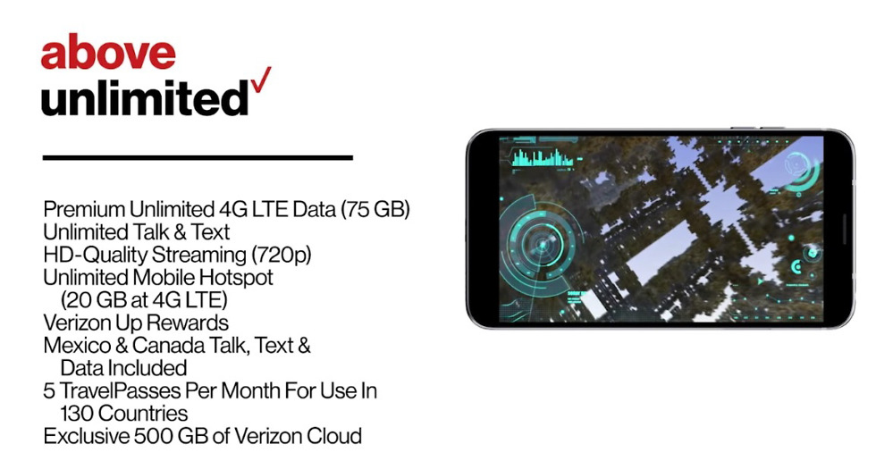 Verizon Adds New 95 Above Unlimited Plan Will Let You