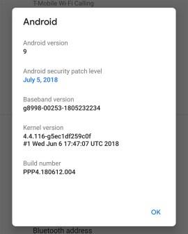 Android P Developer Preview 4 (Beta 3) dirilis, Apa yang Baru?