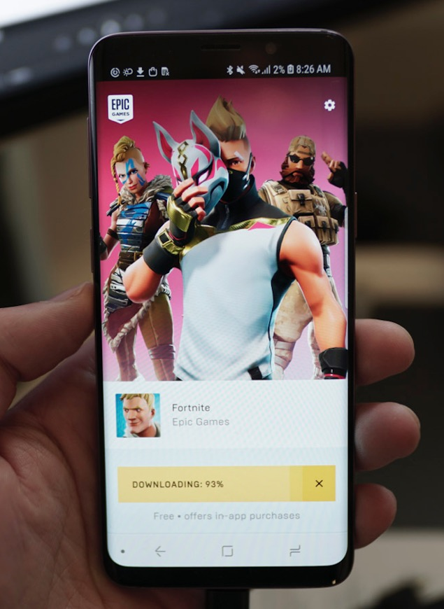 Fortnite Now Available on Android! – Droidpirate com