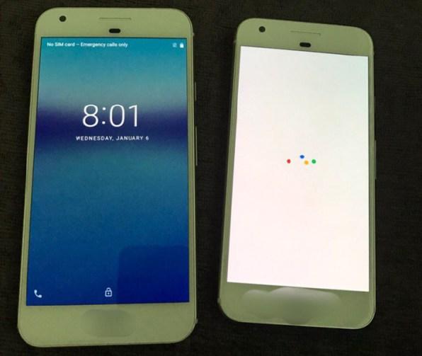google pixel i pixel xl prednja strana