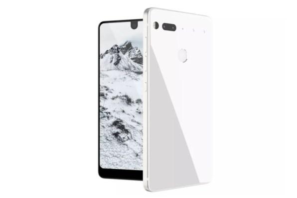 bijeli essential pametni telefon andy rubin
