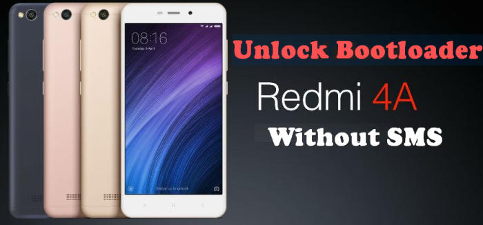 Unlock Bootloader Redmi 4 / 4A / Pro / 4X Without Permission
