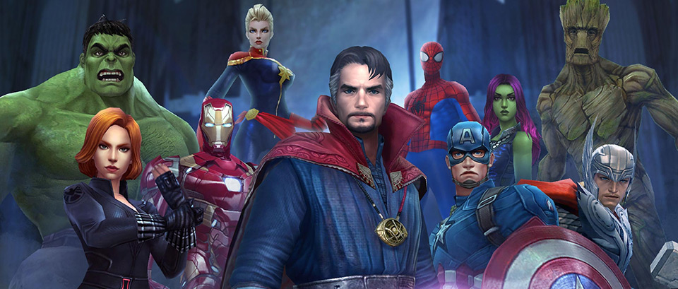 netmarble s marvel future fight gets a doctor strange themed update