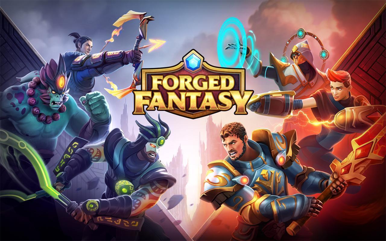 Forged Fantasy is a PvP hero battler up for pre-registration