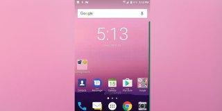 Screenshot BlackBerry Mercury Konfirmasi Gunakan OS Nougat