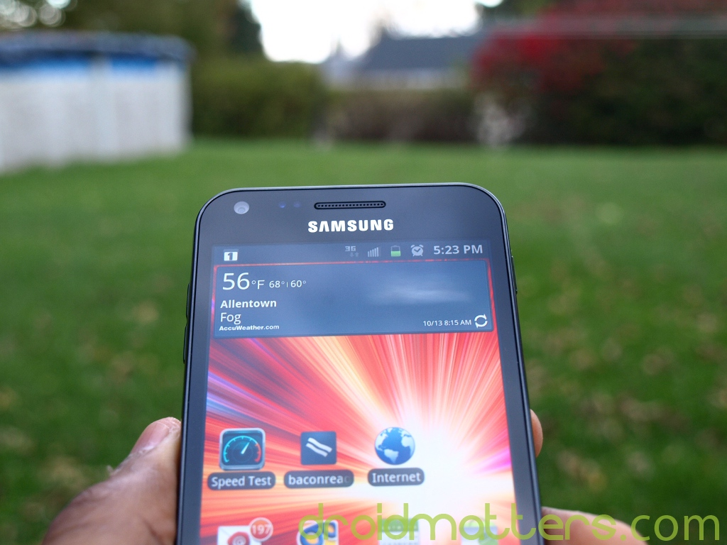 Android 4.0 ICS update now rolling out to the Sprint Samsung Galaxy S II Epic 4G Touch