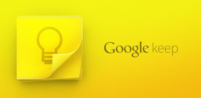 Google takes on Evernote, launches Google Keep
