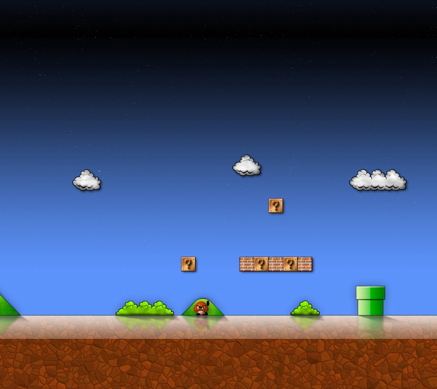 [Download] 19 Super Mario Bros High-Res wallpapers by Neff Starr