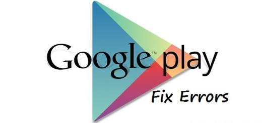 How To fix Google Play Store Errors