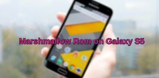 Marshmallow on Galaxy S5 G900F