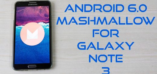 Note 3 to Marshmallow CM13