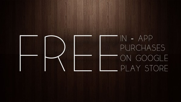 free in app purchases android